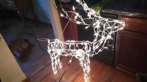 Christmas reindeer works perfectly ,head turns as well for Sale in Branchville, AL