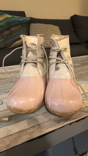 Pink duck boots/winter boots for Sale in Springfield, VA