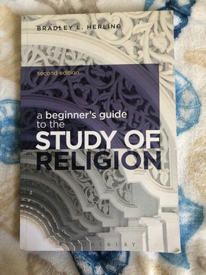 A beginners guide to the study of religion by Bradley L. Herling for Sale in Fresno, CA