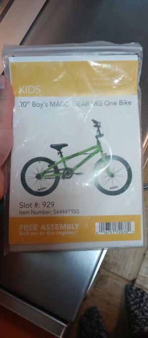 Maddgear 20in bike for Sale in Wichita, KS