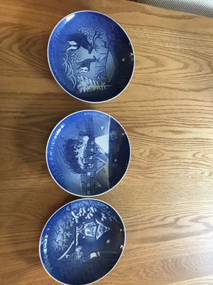 3 Danish plates antique for Sale in Vancouver, WA