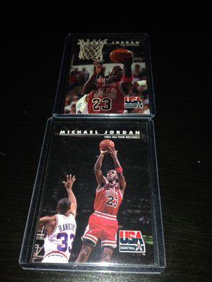 1992 Skybox USA Basketball Michael Jordan #44 & #45 for Sale in Los Angeles, CA
