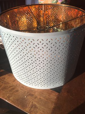"""IKEA """"Nymo"""" Lampshade! Teal/Brass Color for Sale in San Diego, CA"""