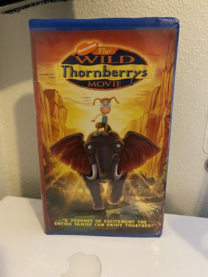 Nickelodeon's The Wild Thornberrys Movie Vintage VHS 📼 for Sale in Albuquerque, NM