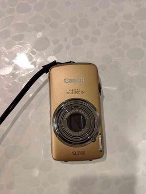 Canon IXUS 200 IS 12.1MP Digital Camera for Sale in Irvine, CA