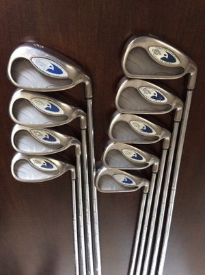 callaway hawkeye iron set for Sale in South Gate, CA