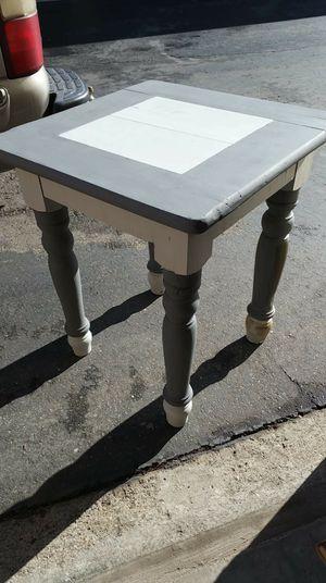 Small corner table/kitchen island/butcher block top for Sale in Antioch, CA