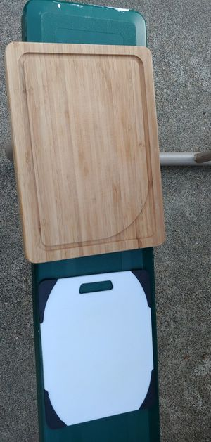 Bamboo chopping board for Sale in Hillsboro, OR