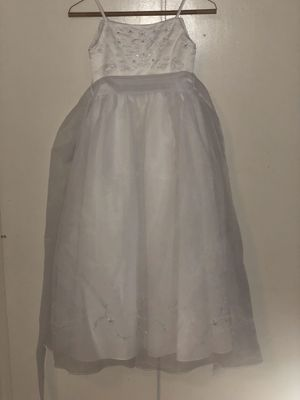 David's bridal flower girl dress. Size 7 in children worn 1x for Sale in San Antonio, TX