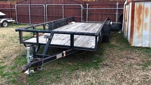 16 ft flatbed heavy duty trailer for Sale in Grapevine, TX