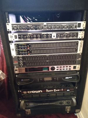 DJ equipment mixer, crossover, name brand gear for Sale in Los Angeles, CA