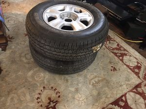 2 continental 235/70/16 brand new Tyres for Sale in Providence, RI