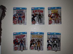 6 inch Marvel Retro Action Figures. Wave 1 for Sale in Oceanside, CA