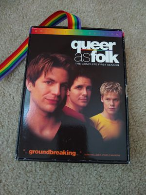 Queer as Folk - The Complete First Season (DVD, 2002, 6-Disc Set, Gift Box for Sale in Garner, NC