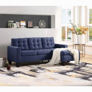 Adams reversible sectional, available in 3 colors $429.00. Super sale! In stock! Free delivery 🚚 for Sale in Ontario, CA