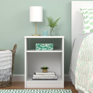 Brand New Contemporary Snow White Nightstand Organizer Bookcase for Sale in Dunwoody, GA