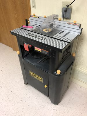 Craftsman Router table on a Craftsman stand for Sale in Oshkosh, WI