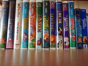 Collectable Walt DisneyVHS movies for Sale in Tacoma, WA