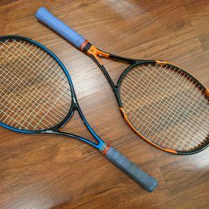 Prince Graphite Pro and Boris Becker Tennis Rackets for Sale in Newport Beach, CA