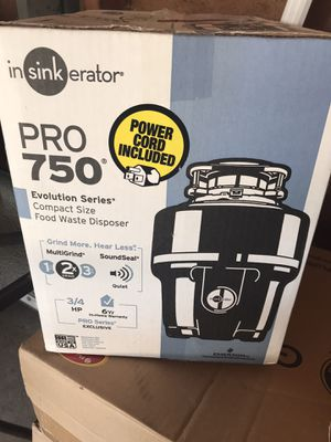 Insinkerator Garbage Disposal for Sale in Carthage, IL