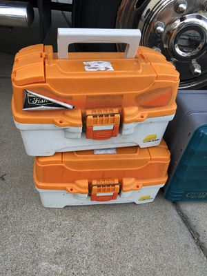 Nice fishing boxes. for Sale in Garner, NC