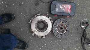 03 jeep wrangler parts , used clutch set, oil pump, wire harness, fly wheel for Sale in Westport, CT