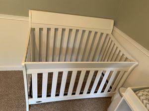 Crib, changing table, crib mattress for Sale in Mill Creek, WA
