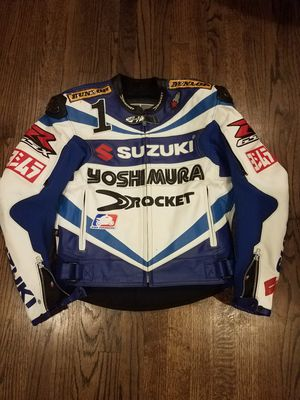 Joe Rocket Suzuki GSXR motorcycle jacket medium size 40 Mat Mladin for Sale in Chicago, IL