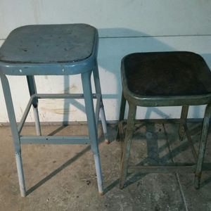 Pair of Vintage Metal Stools for Sale in Hamilton, OH