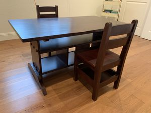 Crate and Barrel Kids Table/Desk and Kids Chair for Sale in Alamo, CA
