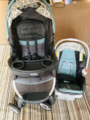 Graco click connect stroller travel system for Sale in Eden Prairie, MN