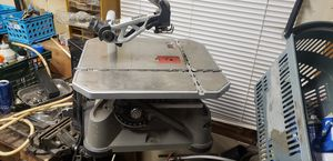 Rockwell RK7320 BladeRunner Tabletop Saw Jig Saw + Wall Mount Scroll Table Rip for Sale in Town and Country, MO