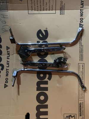 Saddle bag brackets for a 2006 Harley Road King for Sale in Chicago, IL