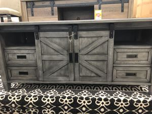 Farmhouse tv stand for Sale in Jacksonville, FL