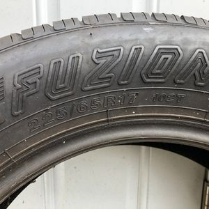 Two Tires Like New 225/65/17 $50 Each for Sale in Jamesburg, NJ