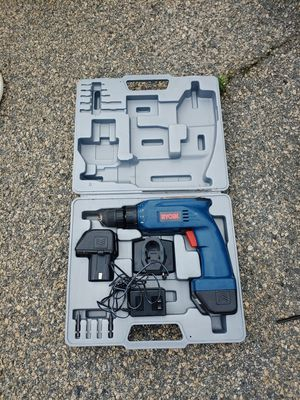 Ryobi drill and case for Sale in Kathleen, GA