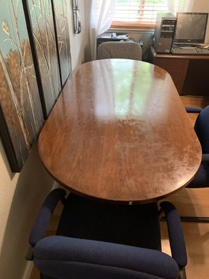 Happy medium conference table must go U-Haul 50 for Sale in Lincoln, CA