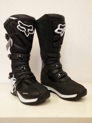 Fox Comp 5 MX Dirt Bike Boots Black/White Size 9 for Sale in Long Beach, CA
