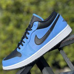 UNIVERSITY BLUE MENS JORDAN 1 LOW 11 BRAND NEW IN BOX NEVER USED for Sale in Buena Park,  CA