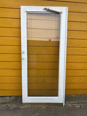 """36 x 80"""" storm door for Sale in Houston, TX"""