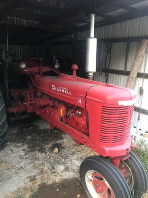 H farmall new front tires and tubes extra set of rear tires and wheels 12 volt converted and three point hitch for Sale in Hardin, KY