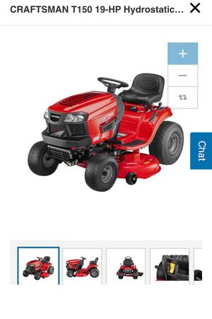 CraftsMan T150 19-HP Hydrostatic 46-in Riding Lawn mower with Mulching Capability for Sale, used for sale  Brooklyn, NY