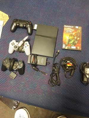 Ps2 with 3 controlers for Sale in Fresno, CA