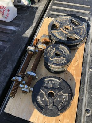 Bunch of weights for Sale in Long Beach, CA