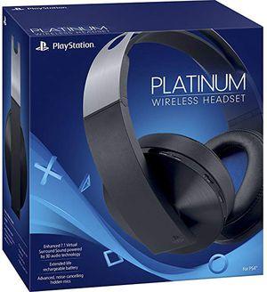 Platinum headphones ps4 for Sale in Hesperia, CA