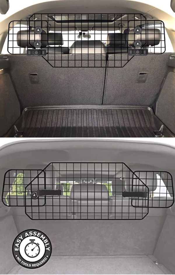 New in box suv barrier fence adjustable divider for pet dog travel trunk