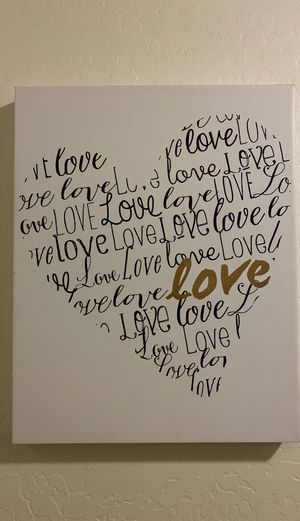 Love canvas for Sale in Phoenix, AZ