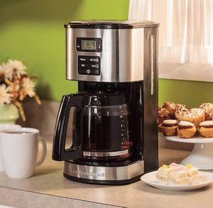 Hamilton Beach 12 Cups Coffee Maker Stainless Steel Cafetera 49618 for Sale in Miami, FL