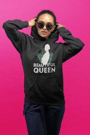 Beautiful queen hoodie pullover albinism positivity for Sale in Killeen, TX