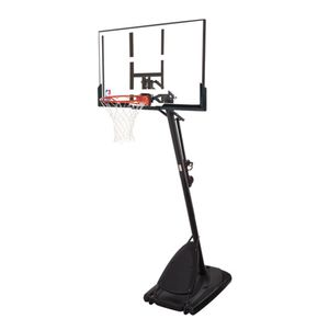 """spalding NBA 54"""" portable angled basketball hoop with polycarbonate backboard for Sale in Austin, TX"""